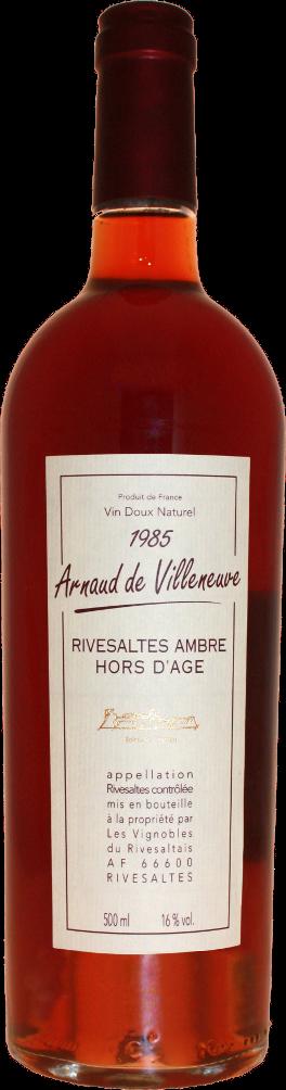 Arnaud de Villeneuve Rivesaltes Ambré 1985