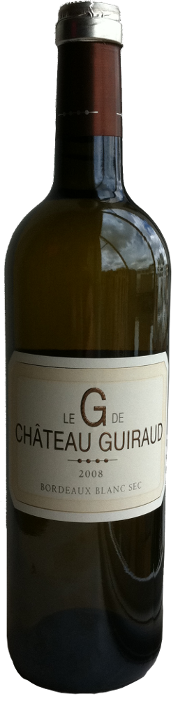 Le G de Château Guiraud 2008